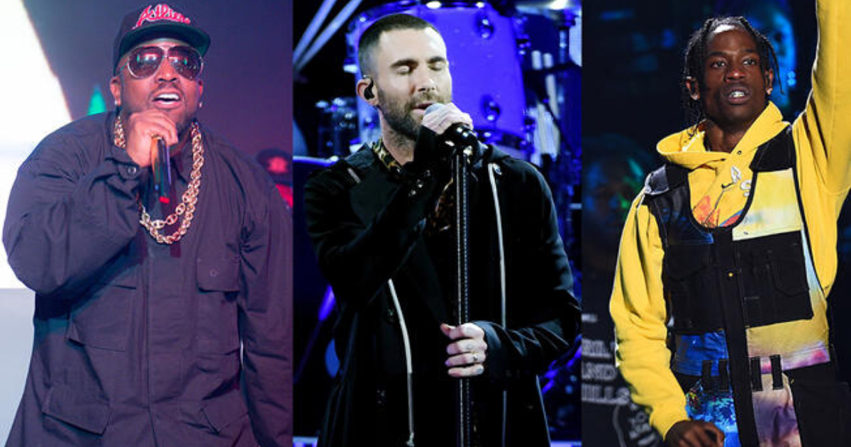 Petition Urges Travis Scott, Maroon 5 and Big Boi to Take a Knee During Halftime Performance