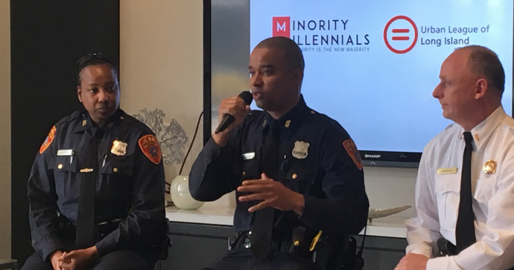 Community and Cops Talk About Stigmas, the Police Exam and How to Build a Relationship