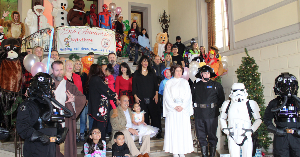 Toys of Hope Celebrates 25th Year of Giving Back to Hundreds of Children at Oheka Castle