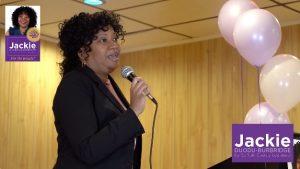 Conversations with Verdel Jones - Sit Down with Potential Political History-Maker Jackie Duodu Burbridge