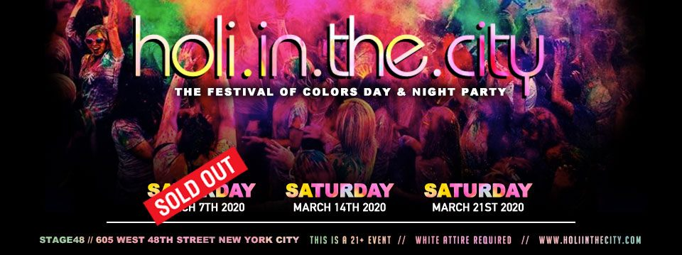 4 Fun Events to go to Keep the Holi Celebration Going on or Around Long Island
