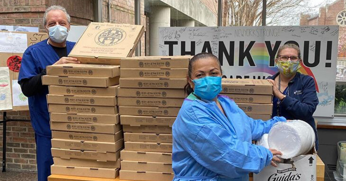 Colored Colors Gives a Slice of Gratitude to Healthcare Workers Fighting COVID