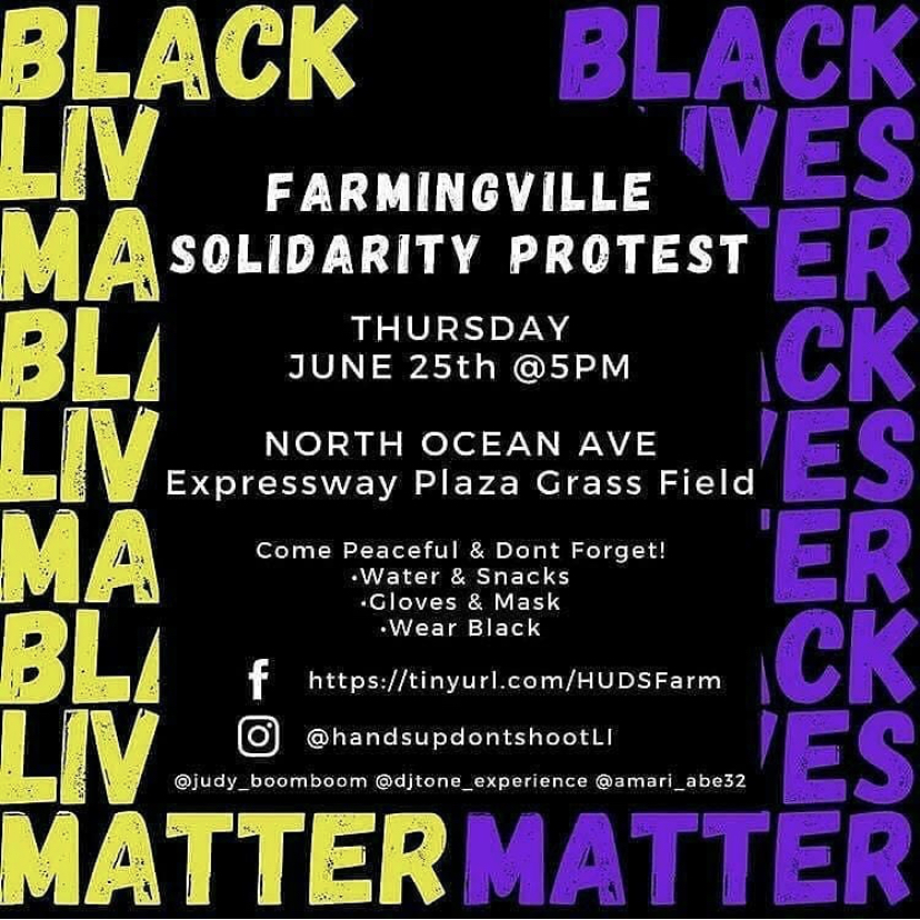 Protests, Marches and Vigils on Long Island (Updated Week of 6/22 - 7/12)