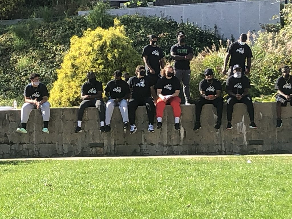 Stony Brook University NAACP and Black Student Athlete Huddle Host Black Lives Matter Protest and Rally on Campus