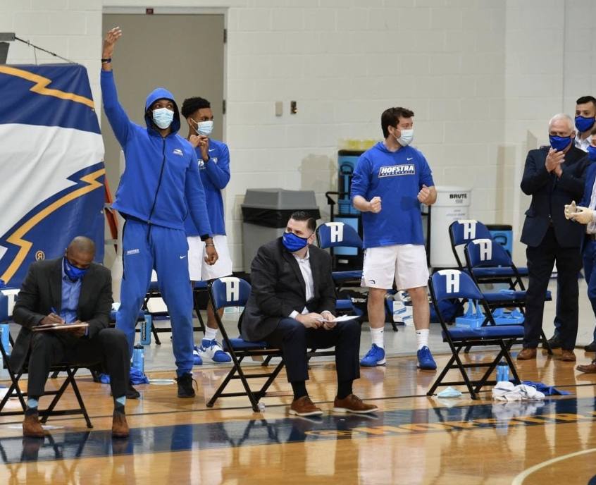 Hofstra Basketball Star Caleb Burgess Discusses Life as a College Athlete During the COVID Pandemic