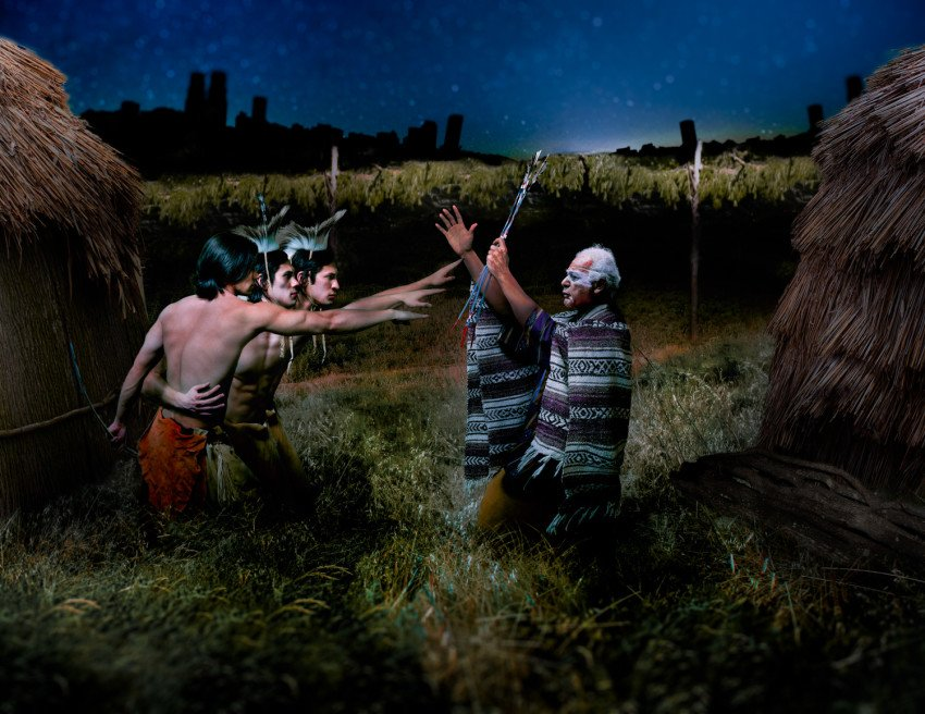 """""""We're Still Here"""": Jeremy Dennis Uses Visual Art to Explore Indigenous Identity"""