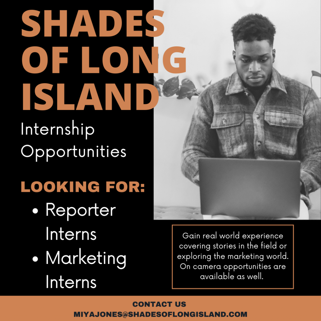 Shades of Long Island Marketing and Reporter Internships Available Today!